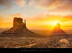 Monument Valley sunrise by Beboy_photographies, via Flickr