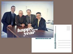 Neujahrskarte «Happy new year»