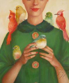 Janet Hill ladybirds-lgo