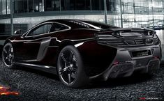 McLaren MSO 650S Coupe Concept. Sweet!