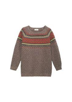 Toast - Eda Fairisle sweater