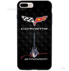 Corvette Stingray Chevrolet logo iPhone Cases Case