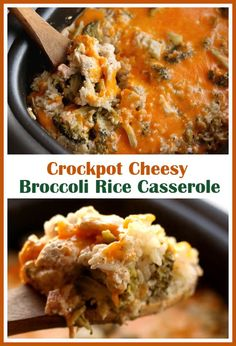 Crockpot Cheesy Broc