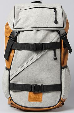 Flud Flannel Tech Backpack in Grey