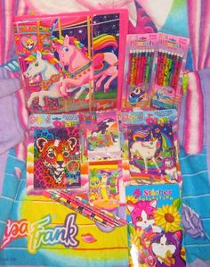 Every girl loved the colorful world of Lisa Frank. Did you know she was 24 when she started her company? How awesome!