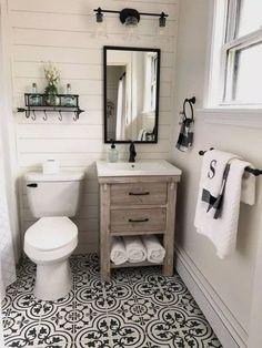 Modern Farmhouse, Rustic Modern, Classic, light and airy master bathroom design a few ideas. Bathroom makeover tips and master bathroom renovation suggestions. Diy Bathroom, Rustic Bathrooms, Bathroom Ideas, Bathroom Mirrors, Master Bathrooms, Bathroom Inspiration, Bathroom Cabinets, Shower Ideas, Bathroom Interior