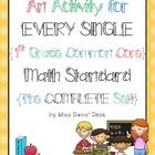 This bundle includes a ready-to-use activity for EVERY SINGLE first grade common core math standard! All activities include a recording sheet. Use ...