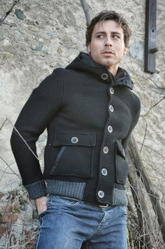Lost In Albion Art BUSTER WoolCoat #menswear #fashion #madeinitaly