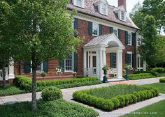 A Country Gentleman's Farm in Weston, MA. (Landscape Architecture by Gregory Lombardi Design)