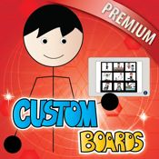 Custom Boards Premium | Special Needs App Review - Custom Boards Premium is an evidence based app designed to serve as a board and activity creator for speech therapists, teachers, special education and parents of children who need symbols to communicate and learn. Custom Boards includes over 11 thousand built in symbols from the Smarty Symbols library and the ability to add your own photos.