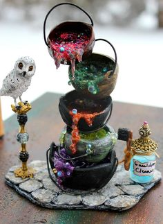 19th Day Miniatures Works in Progress: Back with a new Miniature Witch or Wizard Mucky Ca...