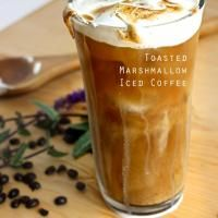 Toasted Marshmallow Iced Coffee Recipe