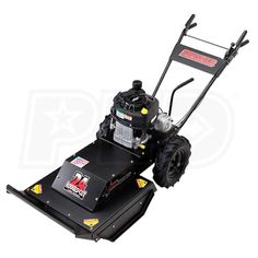 "Buy the Swisher WBRC11524. In-stock at Power Equipment Direct. Also, read the latest reviews for the Swisher Predator (24"") 11.5 HP Walk Behind Rough Cut Mower"