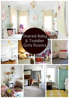 Shared Baby and Toddler Girl Rooms | Shoes Off Please