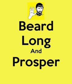 Beard Long And Prosper From Beardoholic.com