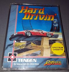 Hard Drivin': CONDITION:- GREAT COMPATIBILITY:- ZX SPECTRUM 48K / 128K RANGE FORMAT:- CASSETTE CASE/BOX TYPE:- DOUBLE CASSETTE / JEWEL… Cassette, Stunts, Spectrum, Arcade, Jewel, Computers, Racing, The Unit, Electronics