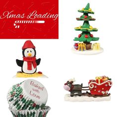 Christmascake toppers!!! Order now online!! #onlineshopping @sprinklessparkles.cy