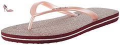 O'Neill  Fw Printed Flip Flop, tongs femme - rose - Pink (Pink Allover Print), - Chaussures oneill (*Partner-Link)