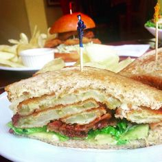 What to Eat (Other Than Crab) on Maryland's Eastern Shore. The fried green tomato BLT at Mason's.
