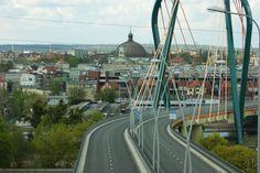 Panorama of Bydgoszcz
