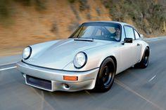 Cool hot rod Porsche 911 SC in California