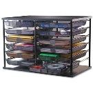Shop for Rubbermaid Organizer with Mesh Drawers - x x Get free delivery On EVERYTHING* Overstock - Your Online Desk Accessories Destination! Get in rewards with Club O! Home Office Storage, Office Supply Organization, Desktop Organization, Storage Organization, Classroom Organization, Organizing Office Supplies, Storage Ideas, Classroom Ideas, Craft Storage