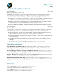 free resume search