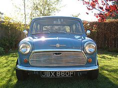 1968 Mini Cooper - about as classic as it gets.