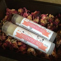 Lip Balm labels with freshness tab for .15 oz lip balm tubes