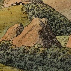 Comparative View Of The Heights of Mountains (1816) -- http://www.bigmapblog.com/2012/comparative-view-of-the-heights-of-mountains-1816/