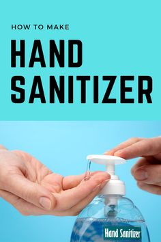 How to Make Hand Sanitizer Cleaning Solutions, Cleaning Hacks, Theives Oil, How To Clean Humidifier, Rubbing Alcohol, Aloe Vera Gel, How To Apply, How To Make, Stress Relief