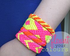 Omiyage Blogs: DIY: Neon Friendship Bracelets