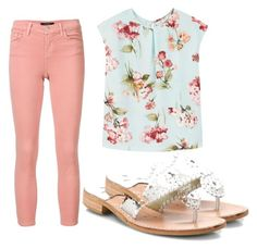 """""""Untitled #559"""" by audpecan55 ❤ liked on Polyvore featuring Jack Rogers, J Brand and MANGO"""