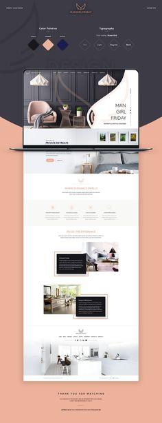 Consultez ce projet @Behance : « Man Girl Friday - Web Design » https://www.behance.net/gallery/62427651/Man-Girl-Friday-Web-Design #websitedesign