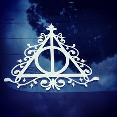 Check out this item in my Etsy shop https://www.etsy.com/listing/190819209/deathly-hallows-harry-potter-vinyl-car