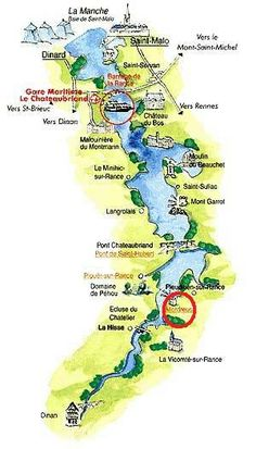 Tourisme et environnement des bords de rance en cotes d for Estuaire de la rance
