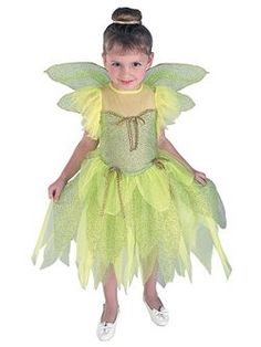 Kids Tinkerbell Costume | Cheap Disney Halloween Costume for Girls Costumes