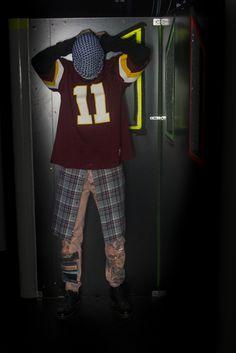 """Denim-bleachin', spray-paintin', patches-addin' corporate cropped clothes"". Photo credit: sebap.tumblr.com"