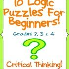 I have created 10 logic puzzles that would be appropriate for logic puzzle beginners. I have always enjoyed doing logic puzzles myself and decided ...