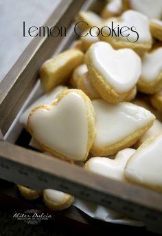 corazones de limón