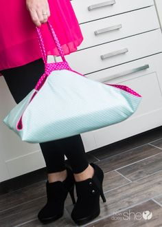 Easy Casserole Carrier DIY - adjustable for different size pans (31)