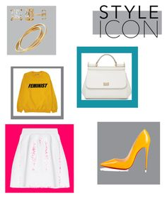 """Style Icon"" by alessandra-fly on Polyvore featuring moda, malo, Christian Louboutin e Dolce&Gabbana"