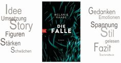 BücherKaffee: Rezension || Die Falle | Melanie Raabe