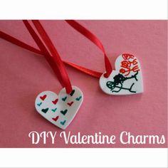 Valentine Kids' Craft:  DIY Valentine Charms