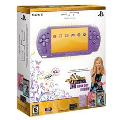 SONY PSP 3000 HANNAH MONTANA Limited Edition Entertainment Pack Bundle / Purple NEW Your #1 Source for Video Games, Consoles & Accessories! Multicitygames.com