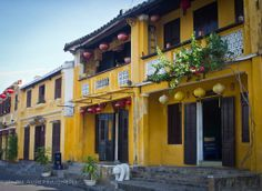 Canvas Print (other products available) - Hoi, Vietnam, beautiful old city also known as City of Lanterns. Many of buildings are painted yellow. It also UNESCO World Heritage listed. - Image supplied by Fine Art Storehouse - Canvas Print made in Australia Hoi An, Fine Art Prints, Canvas Prints, Framed Prints, Vietnam, Yellow Houses, Colonial, Indochine, Home Ownership