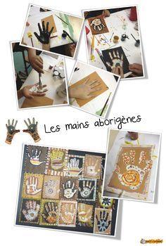 Arts- plastiques Océanie : Yapa le petit aborigène . - Bout de gomme