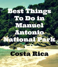 One of the most bio-diverse parks on the planet, lush tropical forests, clear lagoons, mangrove forests and pristine white sandy beaches are all found within the boundaries of Manual Antonio National Park in Costa Rica.  Here are four great things to do in Manuel Antonio Costa Rica on your Costa Rica family travel itinerary. #costarica #travel #travelwithkids #familytravel #nature #adventure #beach #ecotravel
