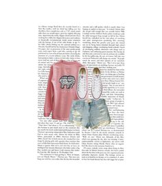 """An unwritten script"" by makieyaashirley ❤ liked on Polyvore featuring Ivory Ella, Hollister Co. and Converse"
