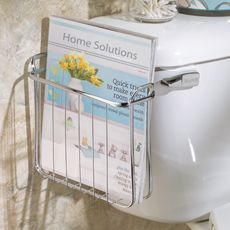 Axis Over-the-Tank Magazine Rack - Bed Bath & Beyond $12.99